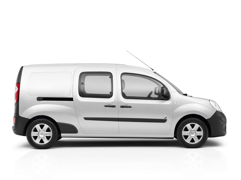 renault kangoo maxi ze to debut in geneva autoevolution. Black Bedroom Furniture Sets. Home Design Ideas