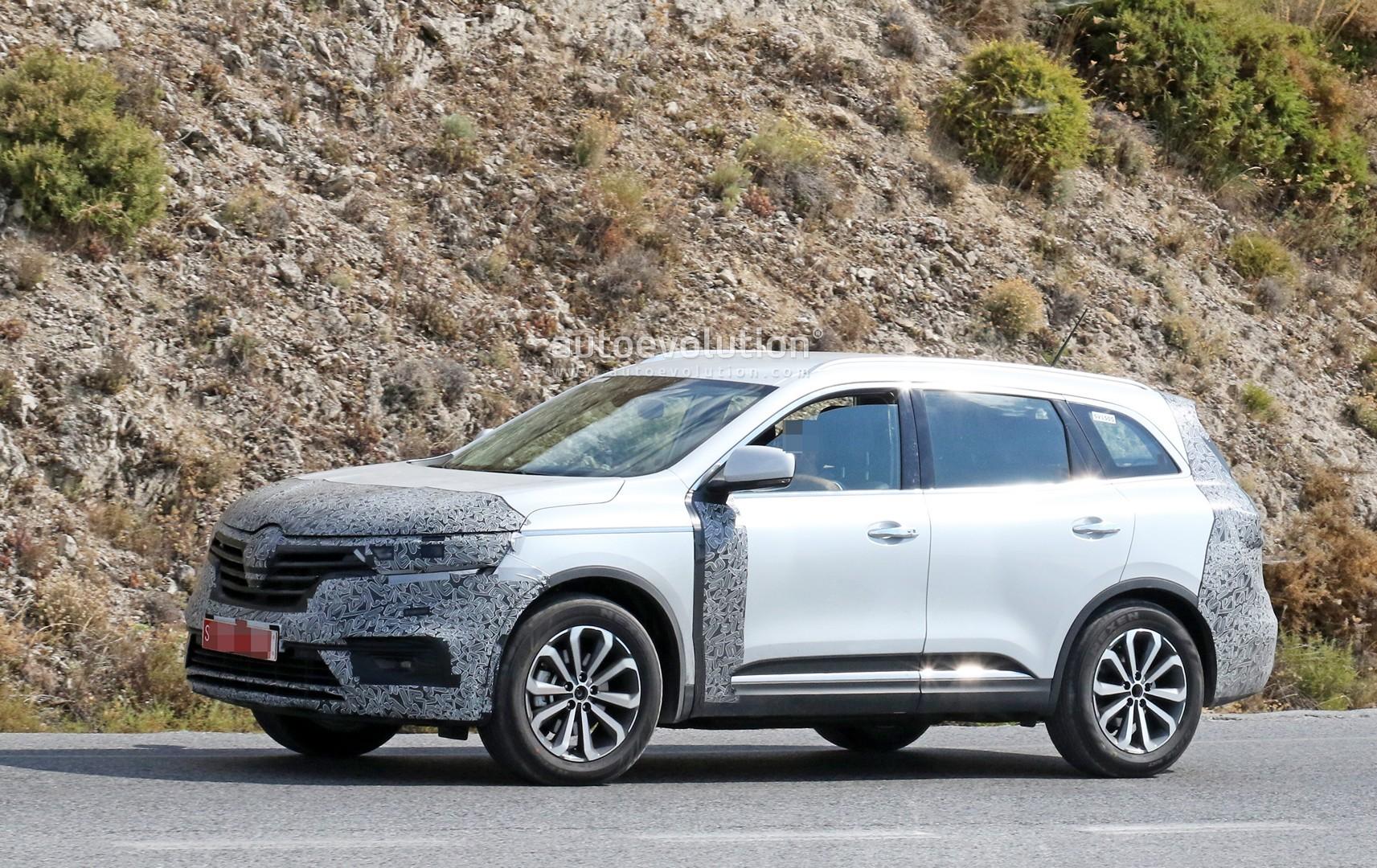 Renault Koleos Facelift Makes Spyshots Debut Autoevolution