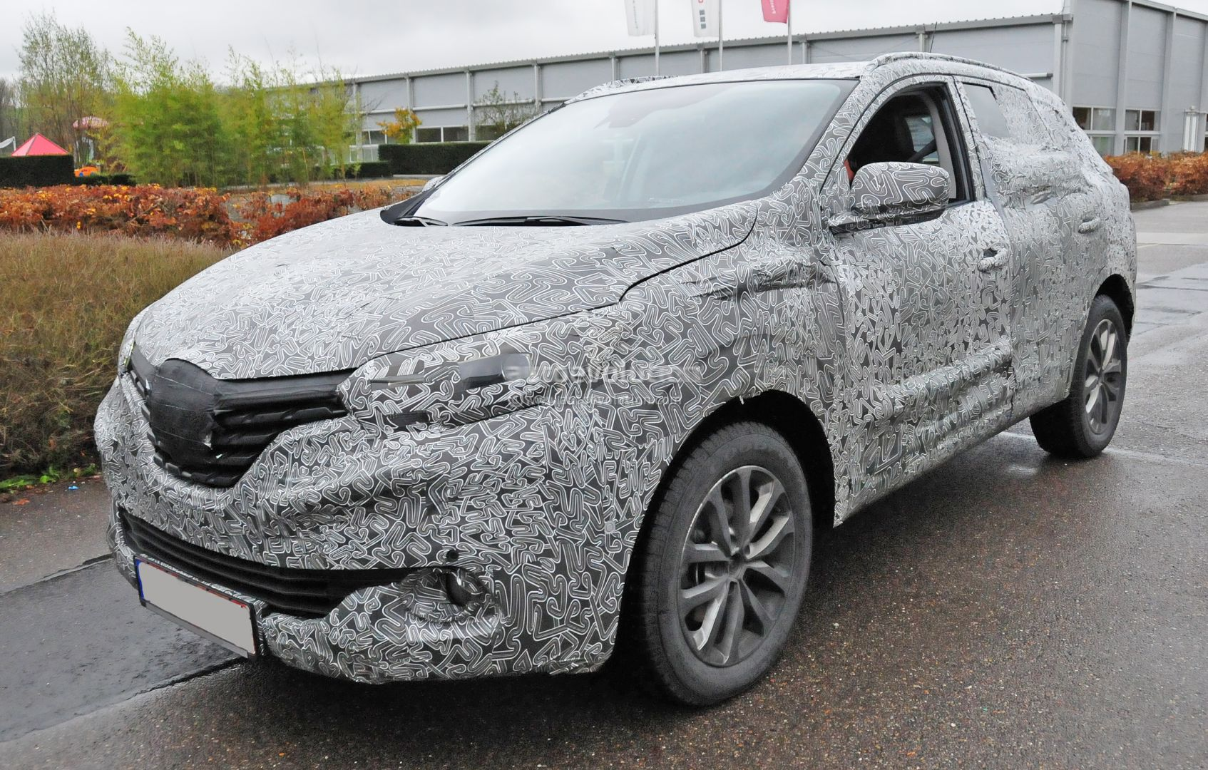 2015 renault koleos crossover spyshots reveal interior digital dashboard autoevolution. Black Bedroom Furniture Sets. Home Design Ideas