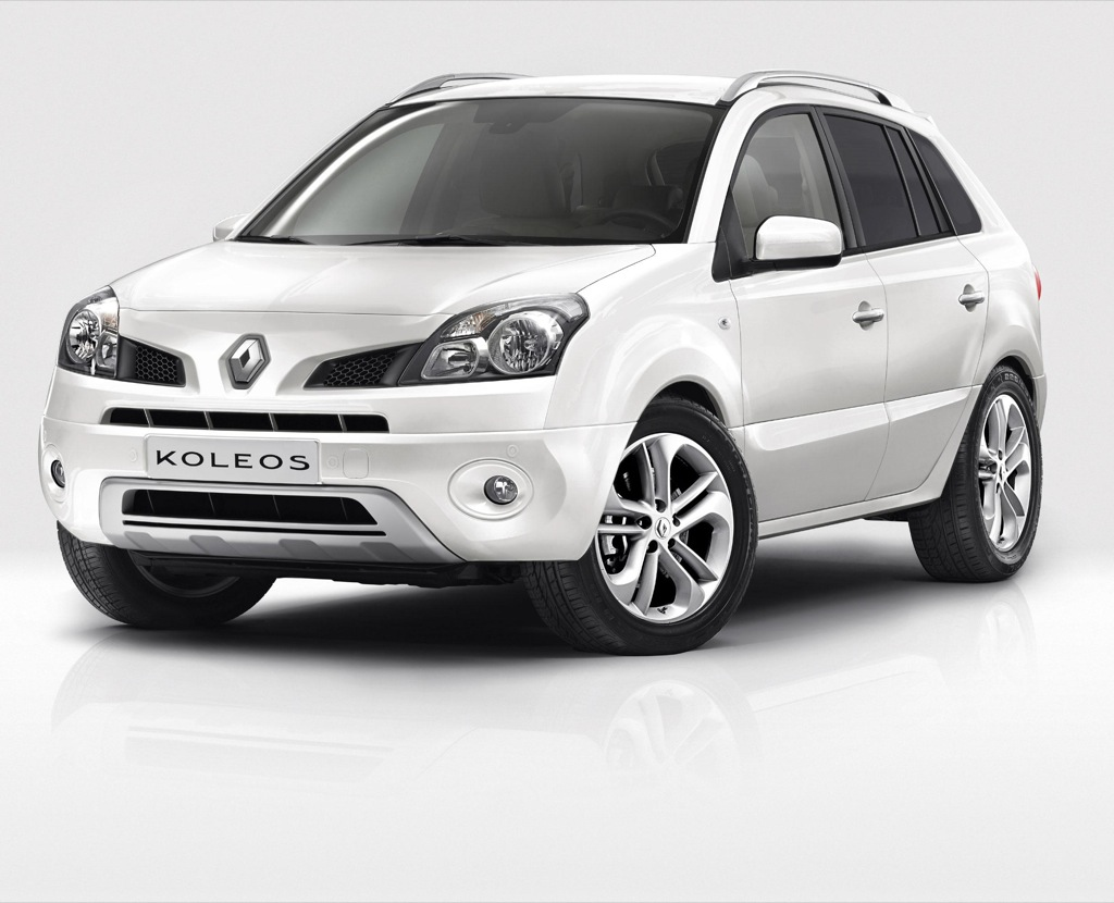 renault launches koleos white edition autoevolution. Black Bedroom Furniture Sets. Home Design Ideas