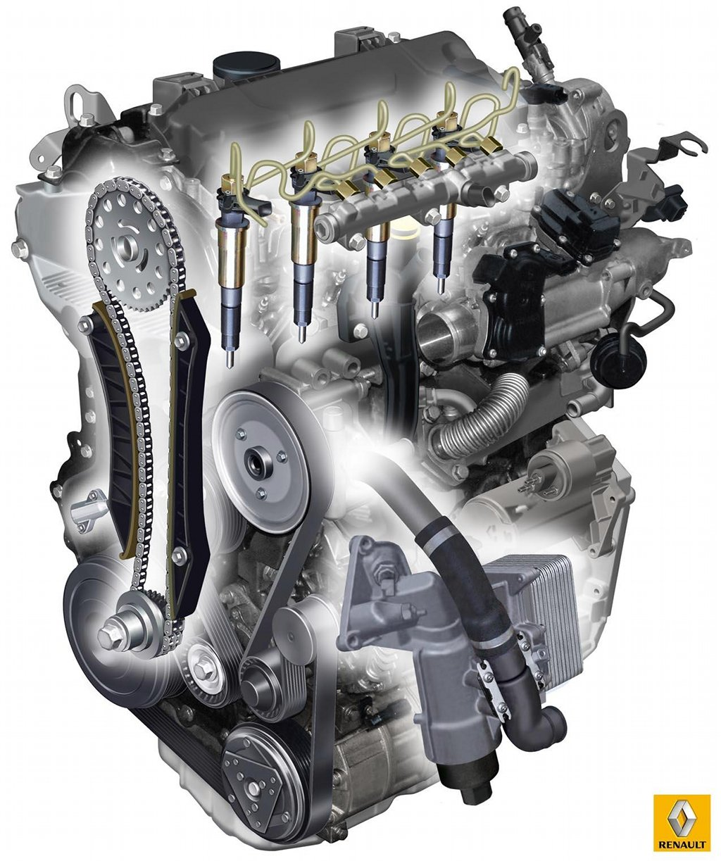 Renault Presents The New 2 3 Dci Diesel Engine Autoevolution