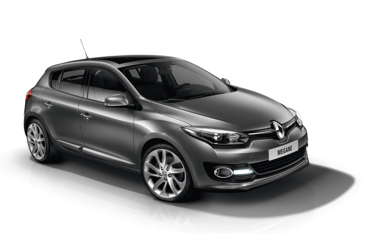 renault reveals 2014 megane facelift lineup hatch coupe