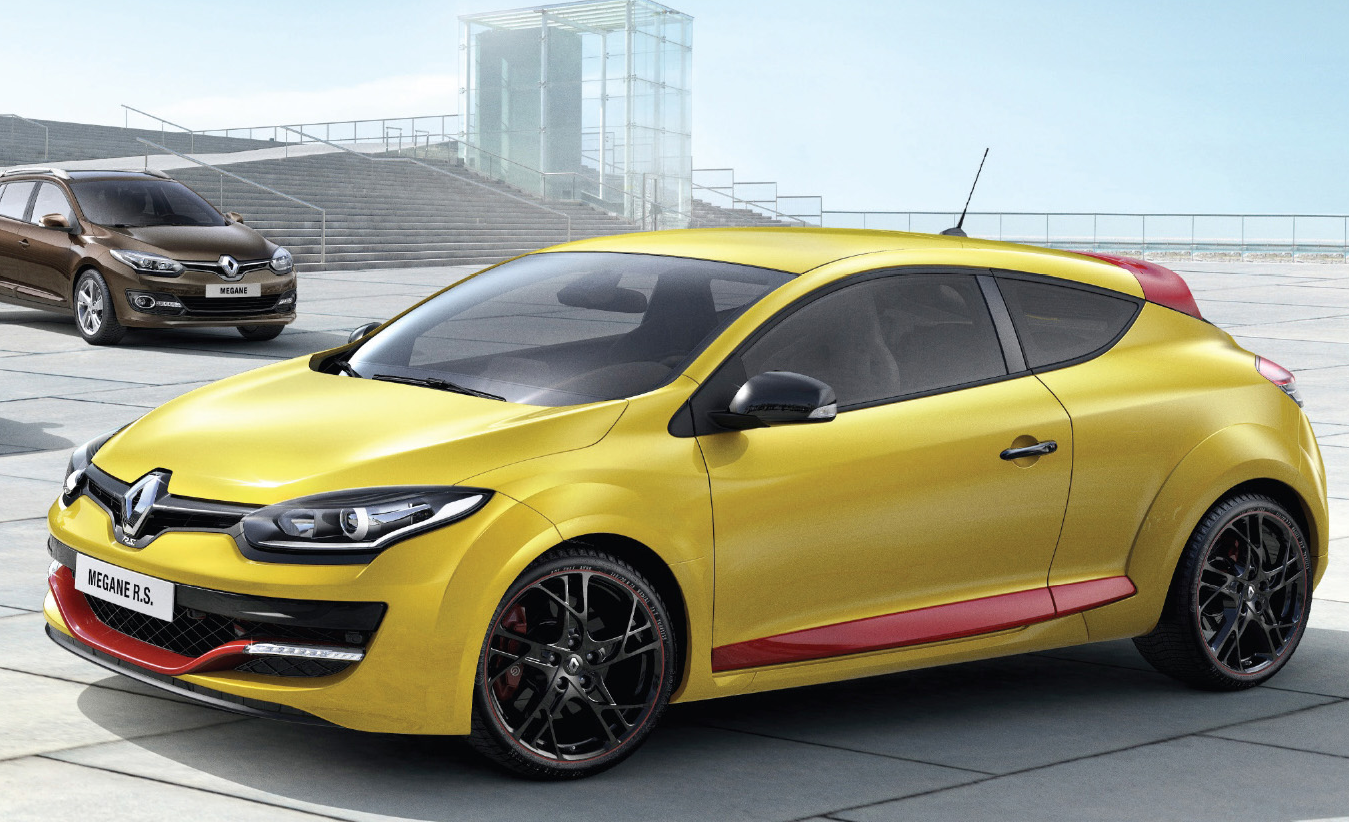 Reveals 2014 Megane Facelift Lineup: Hatch, Coupe, RS and Sport Tourer