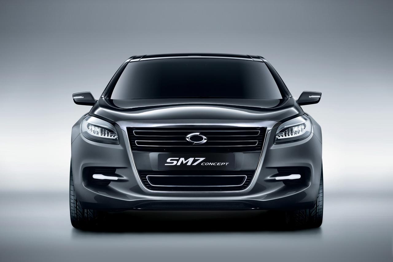 Renault Samsung Reveals Sm7 Concept Autoevolution