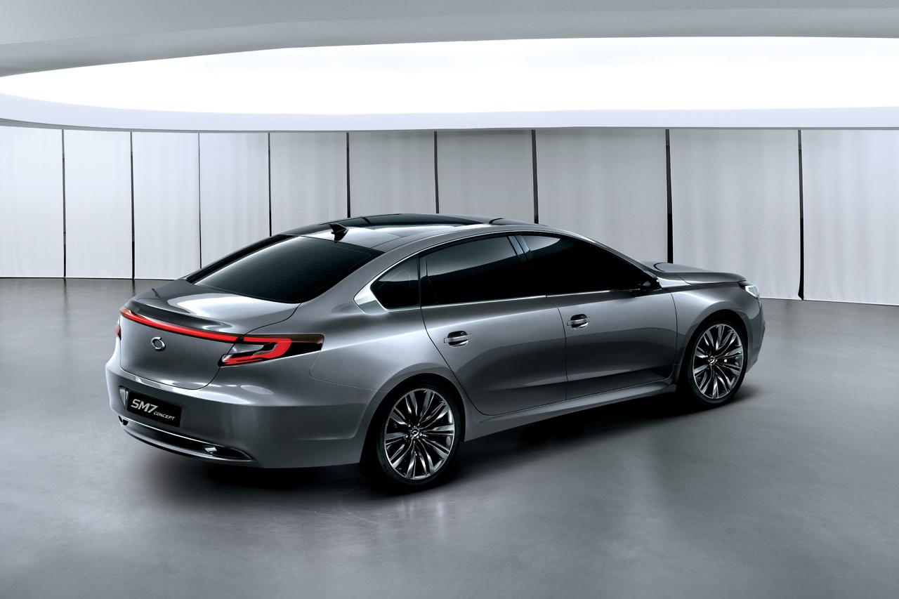 Buy Tires Online >> Renault Samsung Reveals SM7 Concept - autoevolution