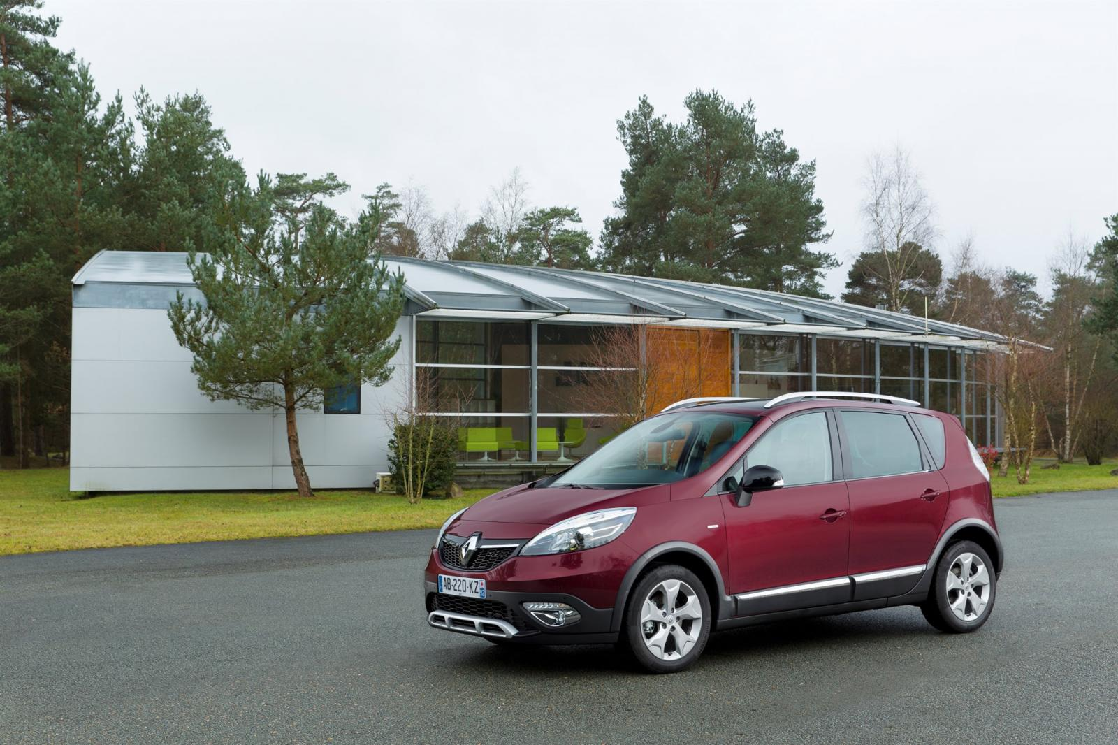 renault scenic xmod unveiled ahead of geneva autoevolution. Black Bedroom Furniture Sets. Home Design Ideas