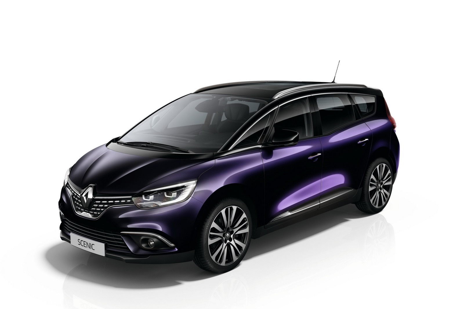 renault spruces up the scenic and grand scenic with initiale paris trim level autoevolution. Black Bedroom Furniture Sets. Home Design Ideas