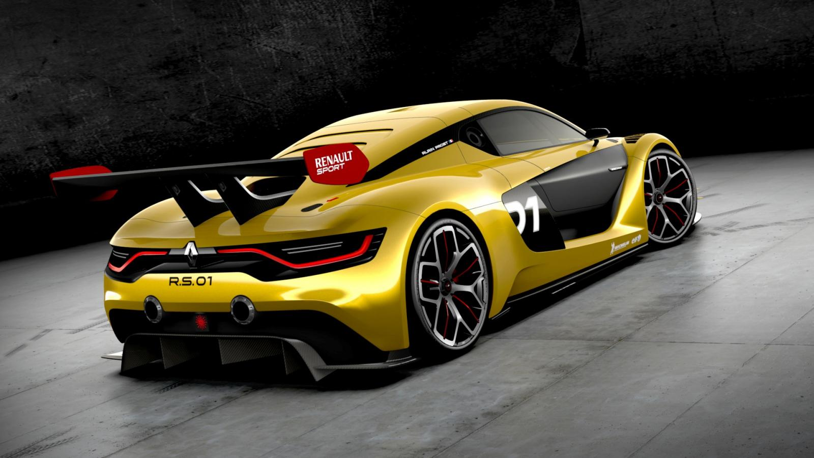 renault sport rs 01 debuts at moscow motor show video autoevolution. Black Bedroom Furniture Sets. Home Design Ideas