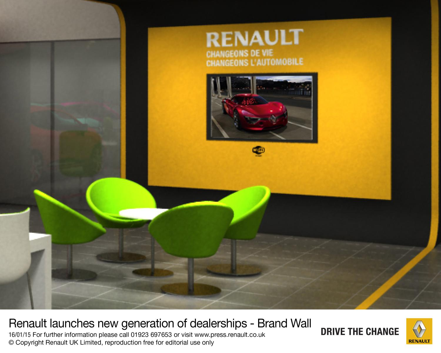Renault Transforming Dealerships To Express New Identity