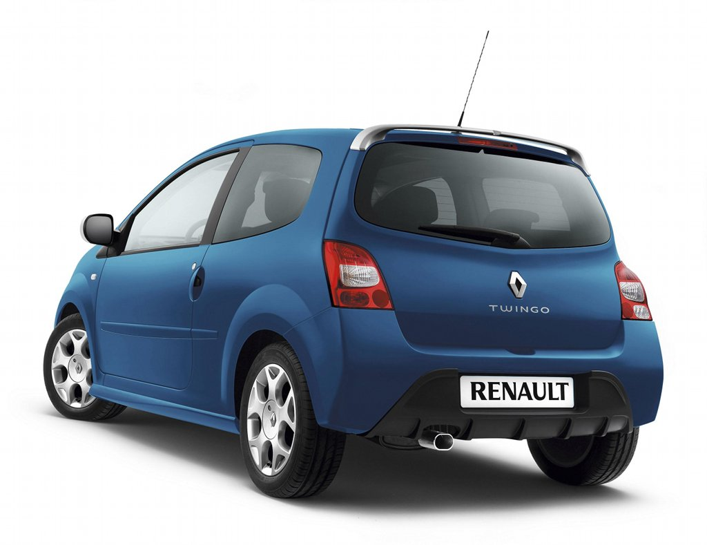 renault twingo updated for 2010 autoevolution. Black Bedroom Furniture Sets. Home Design Ideas