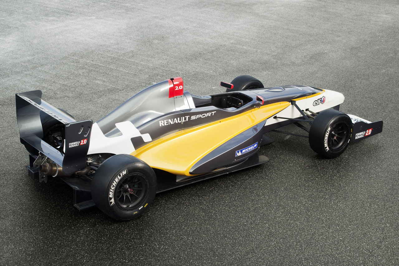 Safest Motorcycle Helmet >> Renaultsport Presents New Formula 2.0 Car - autoevolution