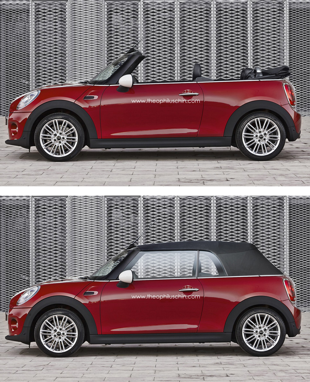 Rendering 2014 Mini Cooper Convertible