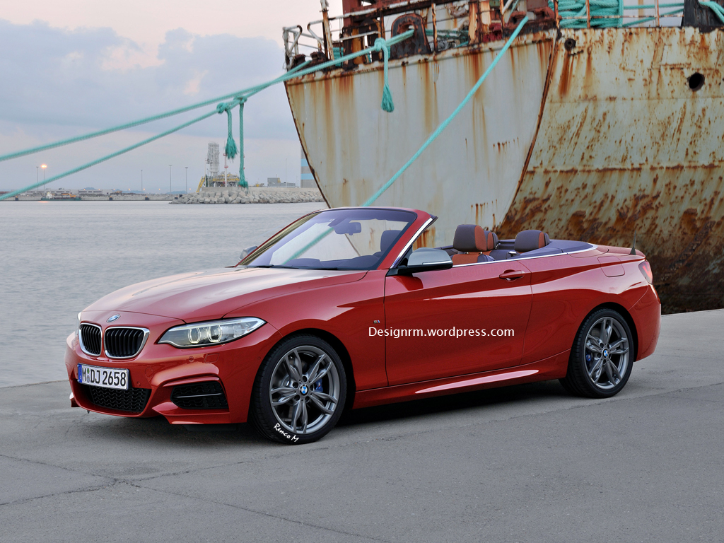 rendering bmw 2 series convertible autoevolution. Black Bedroom Furniture Sets. Home Design Ideas