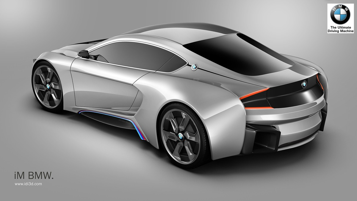 Rendering Bmw Im Looks Like An Eco Friendly Supercar Autoevolution