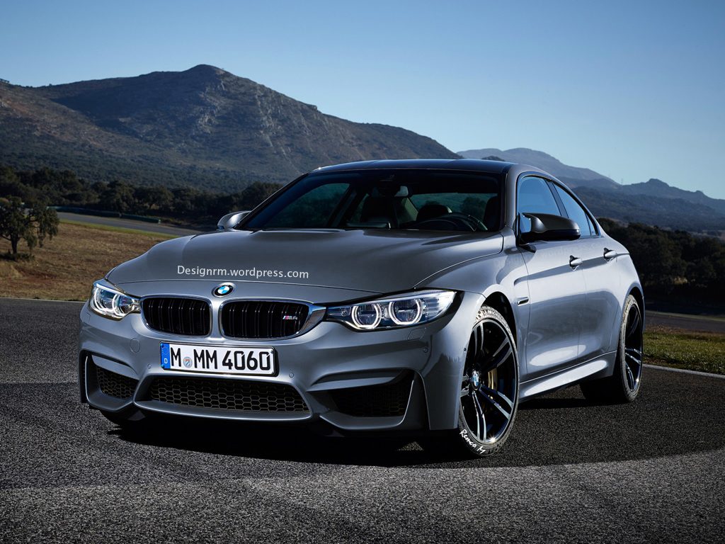 rendering bmw m4 gran coupe autoevolution. Black Bedroom Furniture Sets. Home Design Ideas