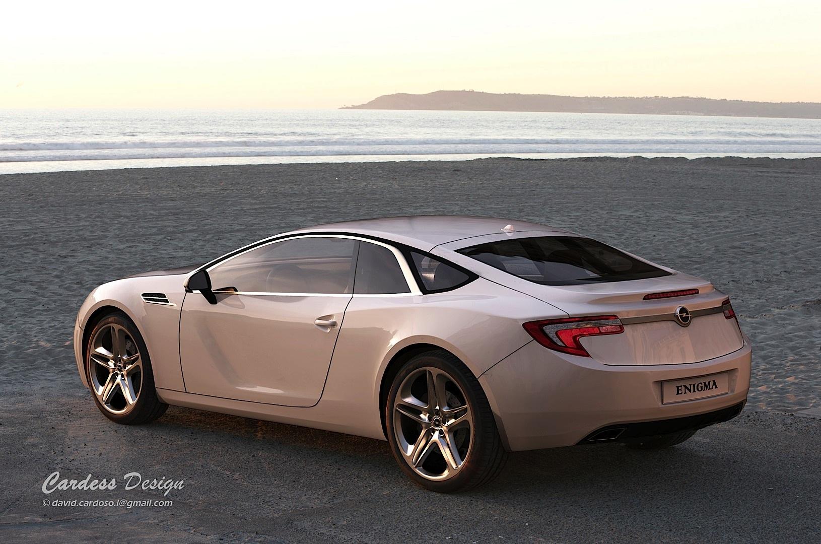 Awd Sports Cars >> Rendering: Opel Enigma Is the Calibra Reborn - autoevolution