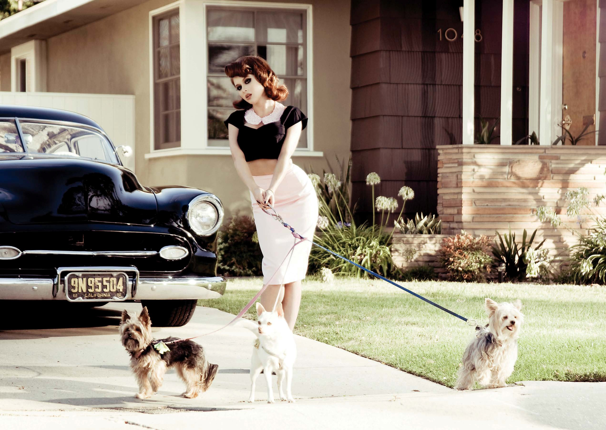 Used Chevy Equinox >> Renee Olstead Is Gangsta-Hot Next to a Chevy Deluxe ...