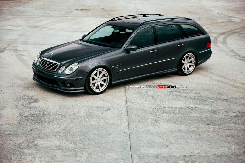 Renntech Mercedes E55 Amg Is The Devil S Station Wagon