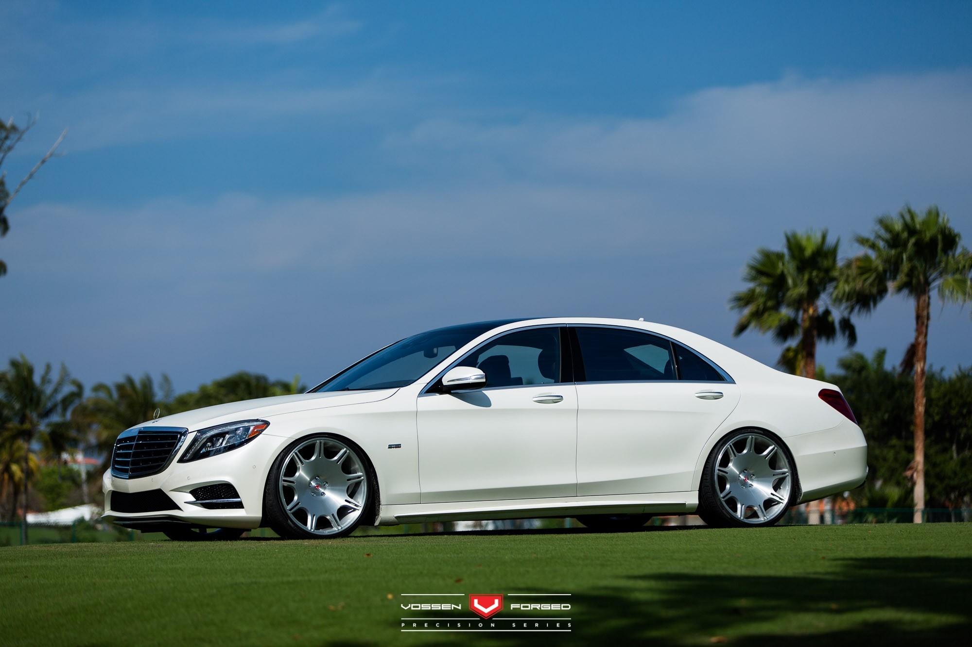 Renntech Mercedes S550 Gets The Vip Stance And Vossen