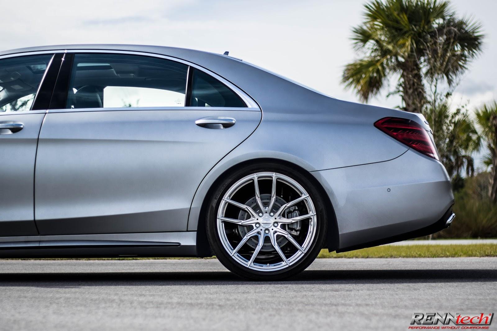 """RENNtech-tuned Mercedes-Benz S 560 Rides On 21"""" Vossen ..."""