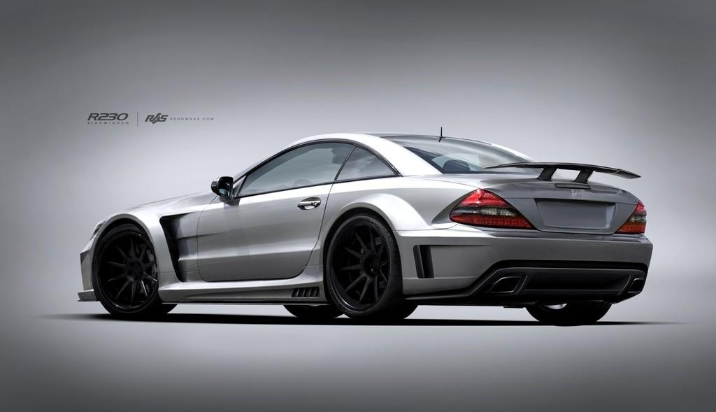 Renown Sidewinder Wide Body Kit For Mercedes Benz Sl