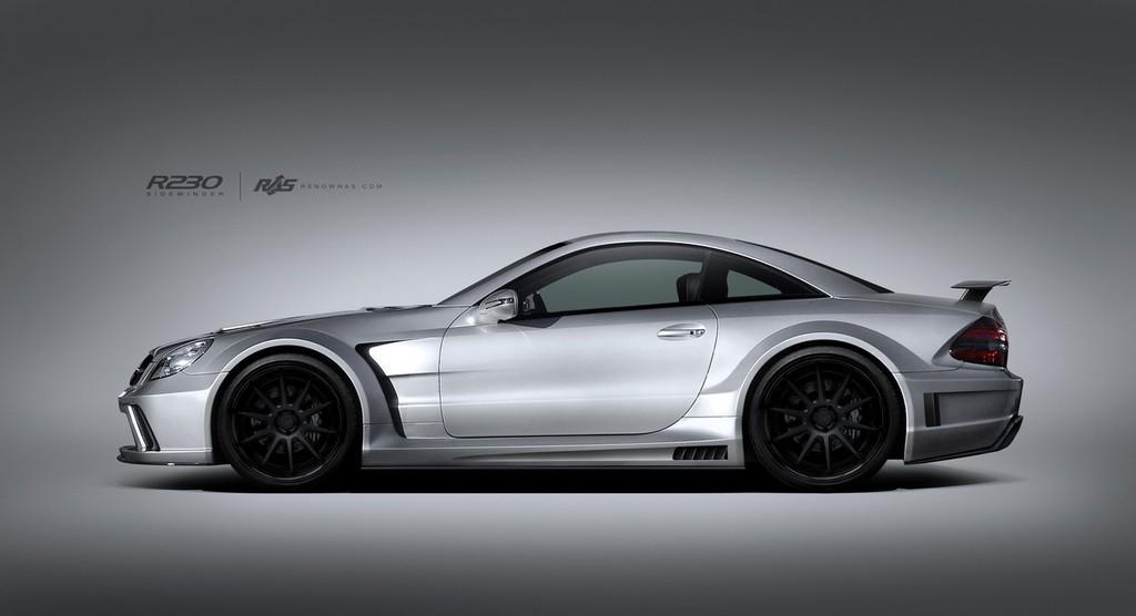 Renown Sidewinder Wide Body Kit For Mercedes Benz Sl