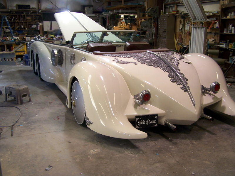 Replica of Captain Nemo\'s Car Listed on eBay for Top Dollar ...