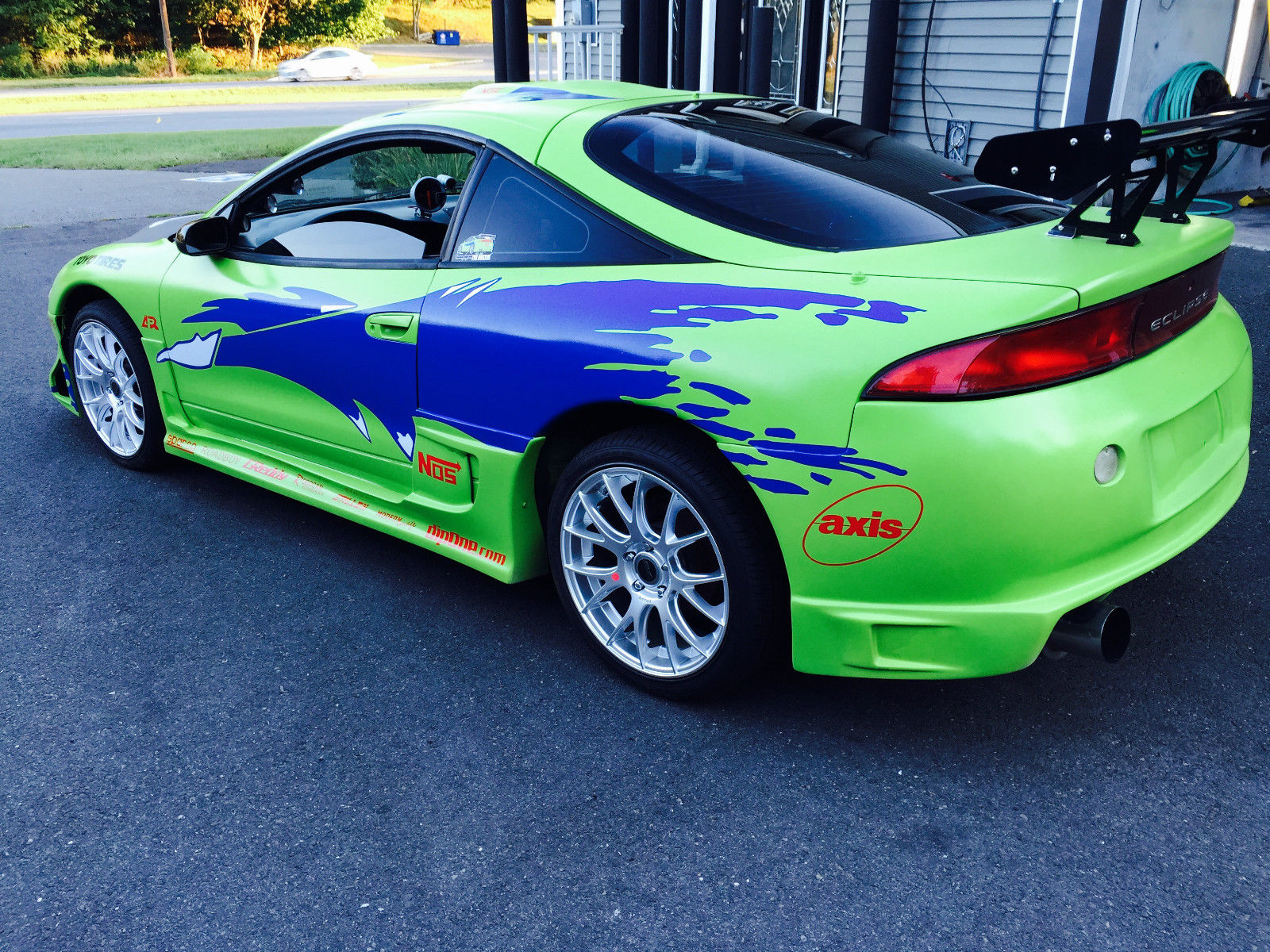 Replica of the Mitsubishi Eclipse Paul Walker Drove in The Fast and The Furious Is on Sale ...