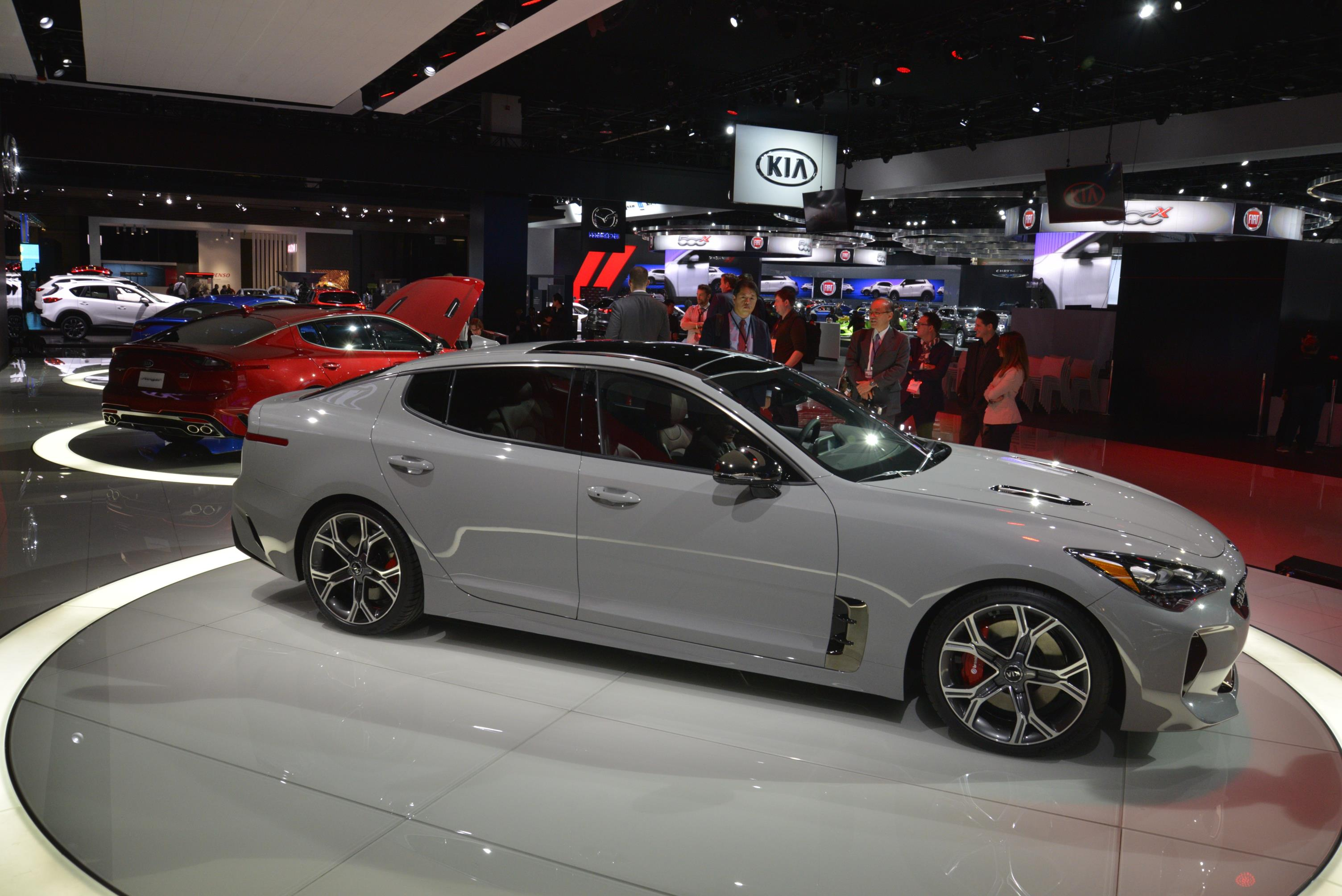 Report Kia Stinger Diesel To Debut At 2017 Geneva Motor