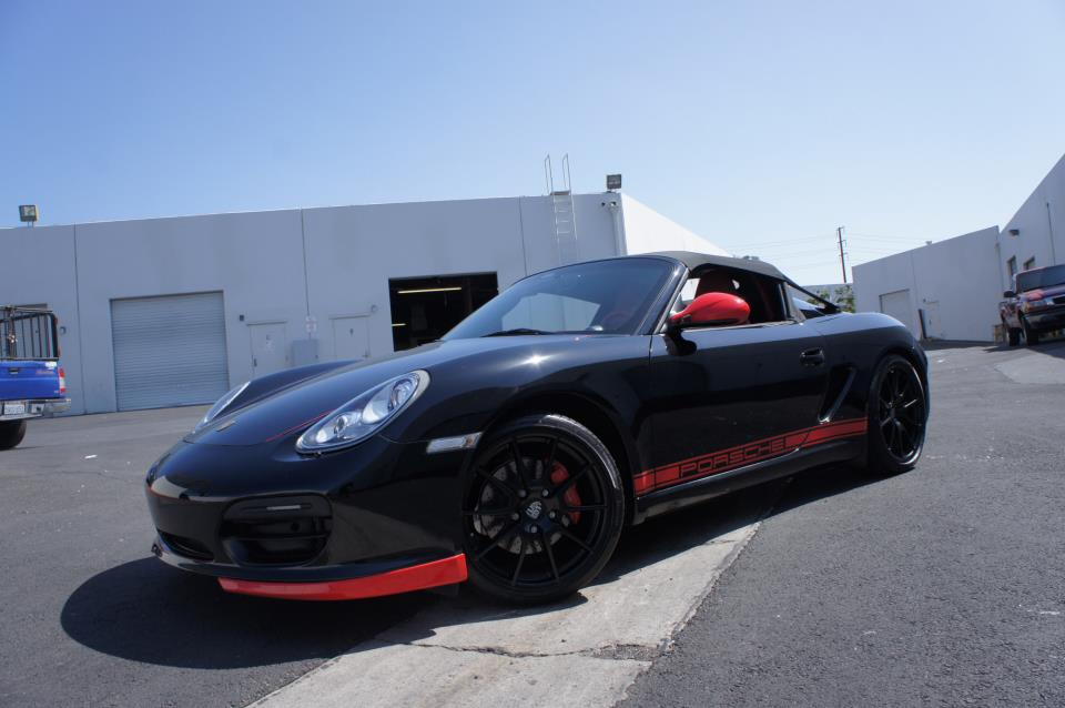 retouched porsche boxster spyder by the r 39 s tuning. Black Bedroom Furniture Sets. Home Design Ideas