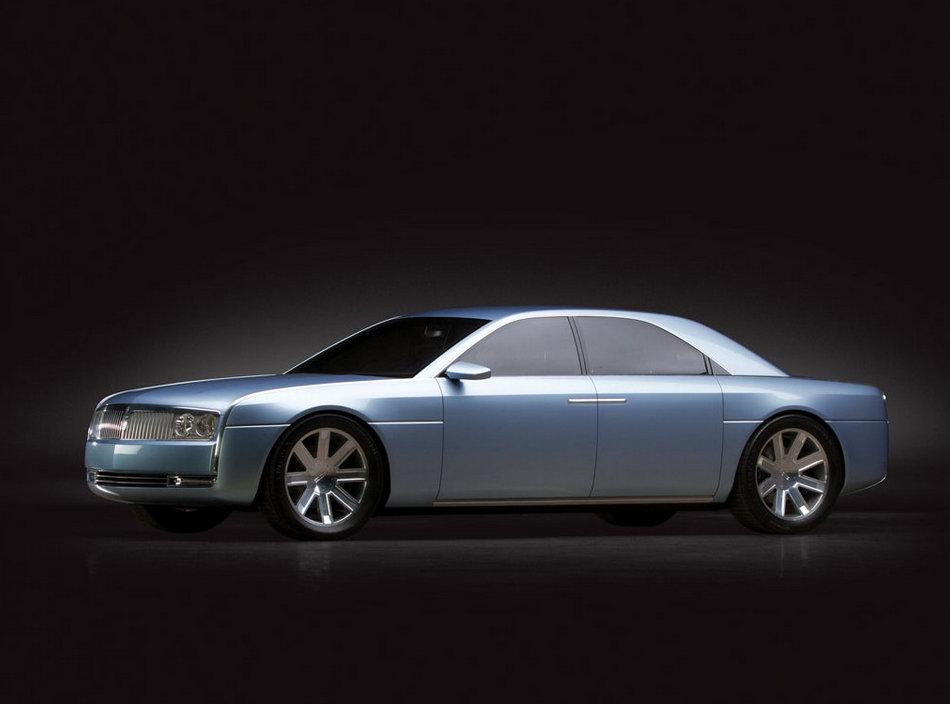 Retrofuturistic Lincoln Continental Concept Heading To
