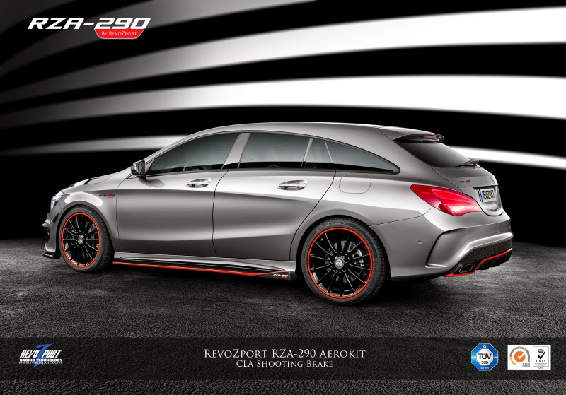 revozport mercedes benz cla 45 amg shooting brake packs. Black Bedroom Furniture Sets. Home Design Ideas
