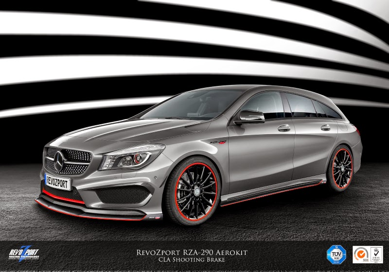 revozport mercedes benz cla 45 amg shooting brake packs 444 horsepower autoevolution. Black Bedroom Furniture Sets. Home Design Ideas