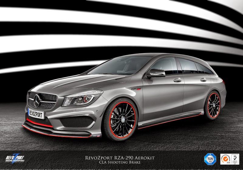 Revozport Mercedes Benz Cla 45 Amg Shooting Brake Packs 444 Horsepower Autoevolution