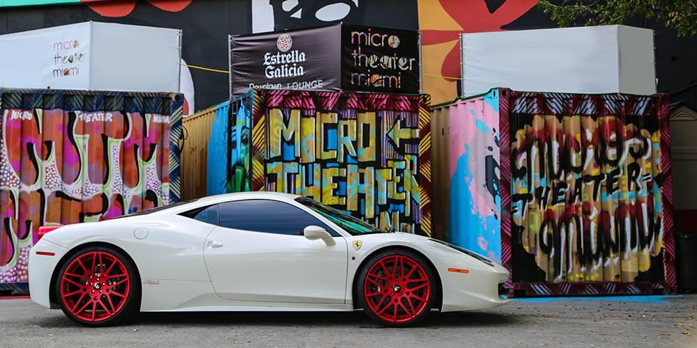 Rick Ross Ferrari 458 Italia Gets Red Forgiato Wheels