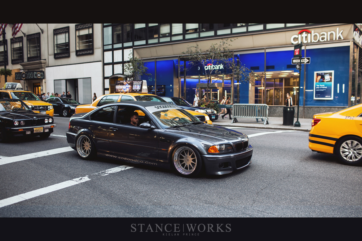 Riding Low Through Downtown Manhattan Bmw E46 M3 Autoevolution