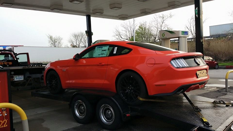 Ford Mustang Right Hand Drive