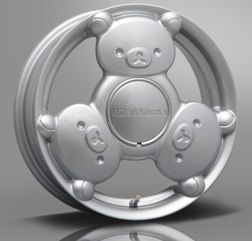 Rilakkuma Alloy Wheels Could Be Japan's Strangest ...