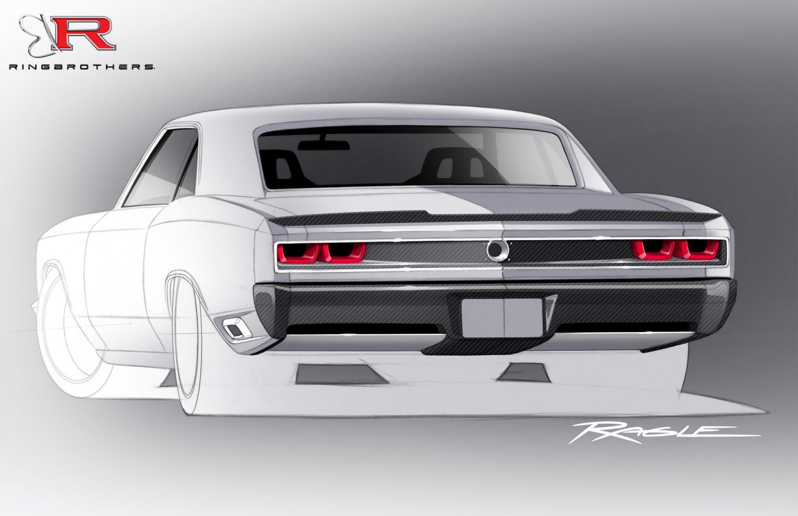 Ringbrothers recoil chevrolet chevelle heading to sema packs 980 horsepower autoevolution
