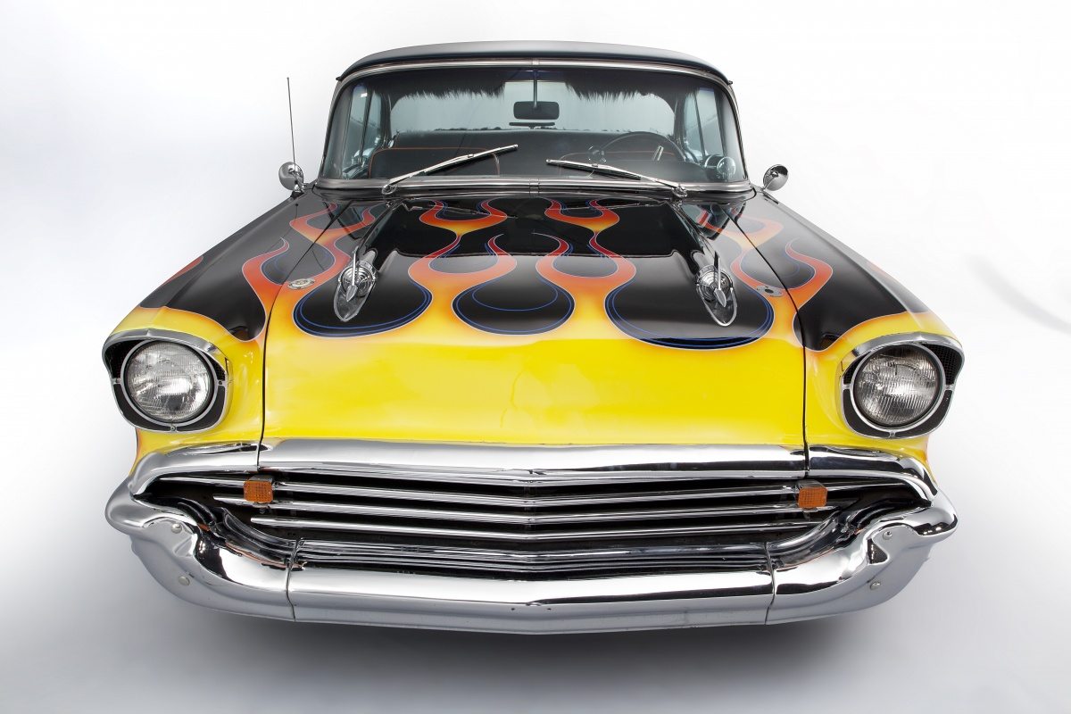 Ringo Starr S Custom 1957 Chevrolet Bel Air Up For Auction