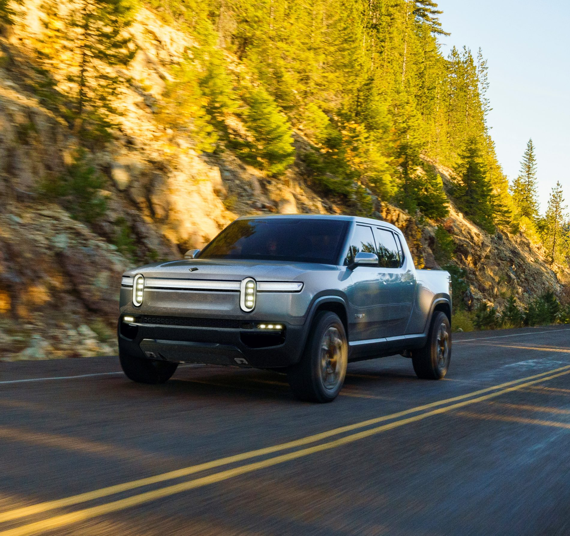 Rivian R1T Electric Pickup Truck Unveiled As The Monster