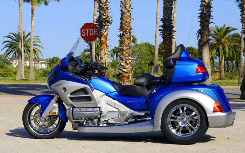Roadsmith HTS1800, the All-New Honda Goldwing Trike ...