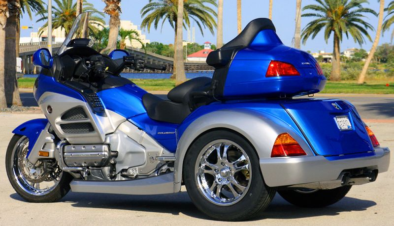 Roadsmith Hts1800 The All New Honda Goldwing Trike