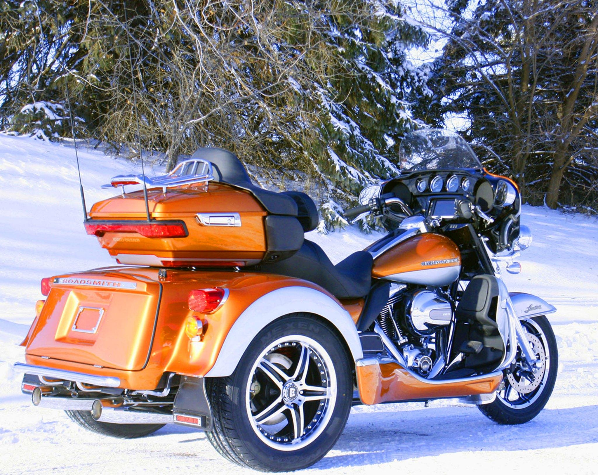 Roadsmith Introduces Harley-Davidson Rushmore Trikes