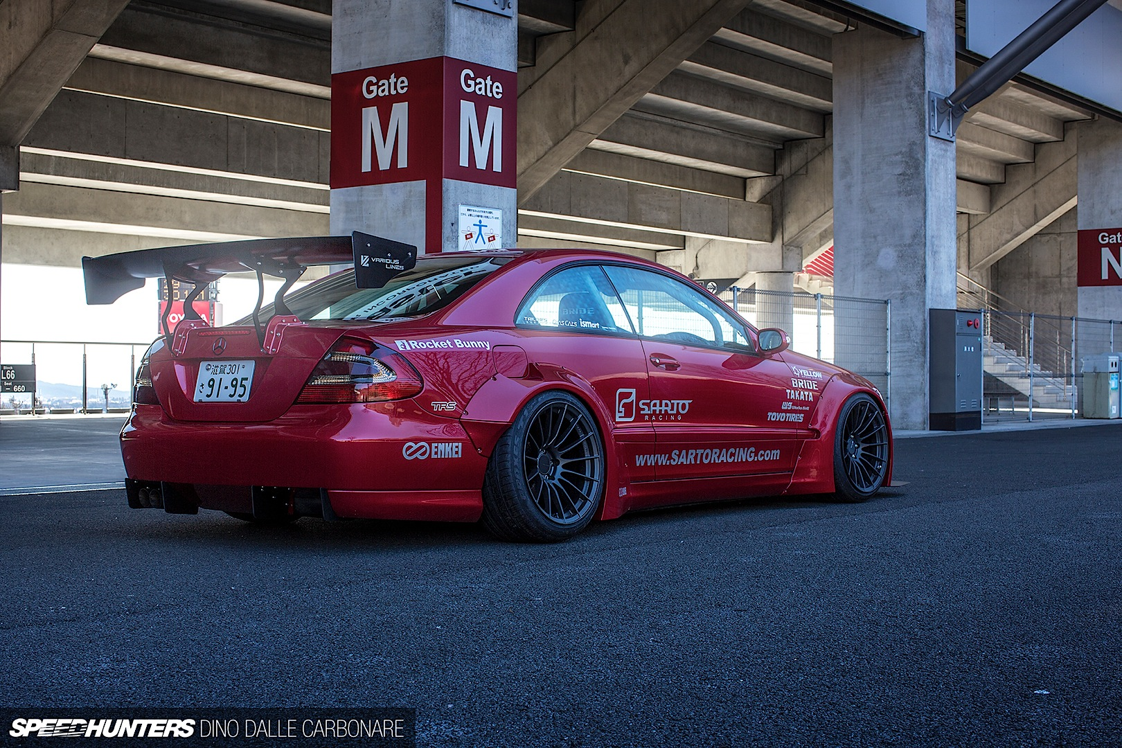 Rocket Bunny Bodykit For The Mercedes Benz Clk C209 Autoevolution