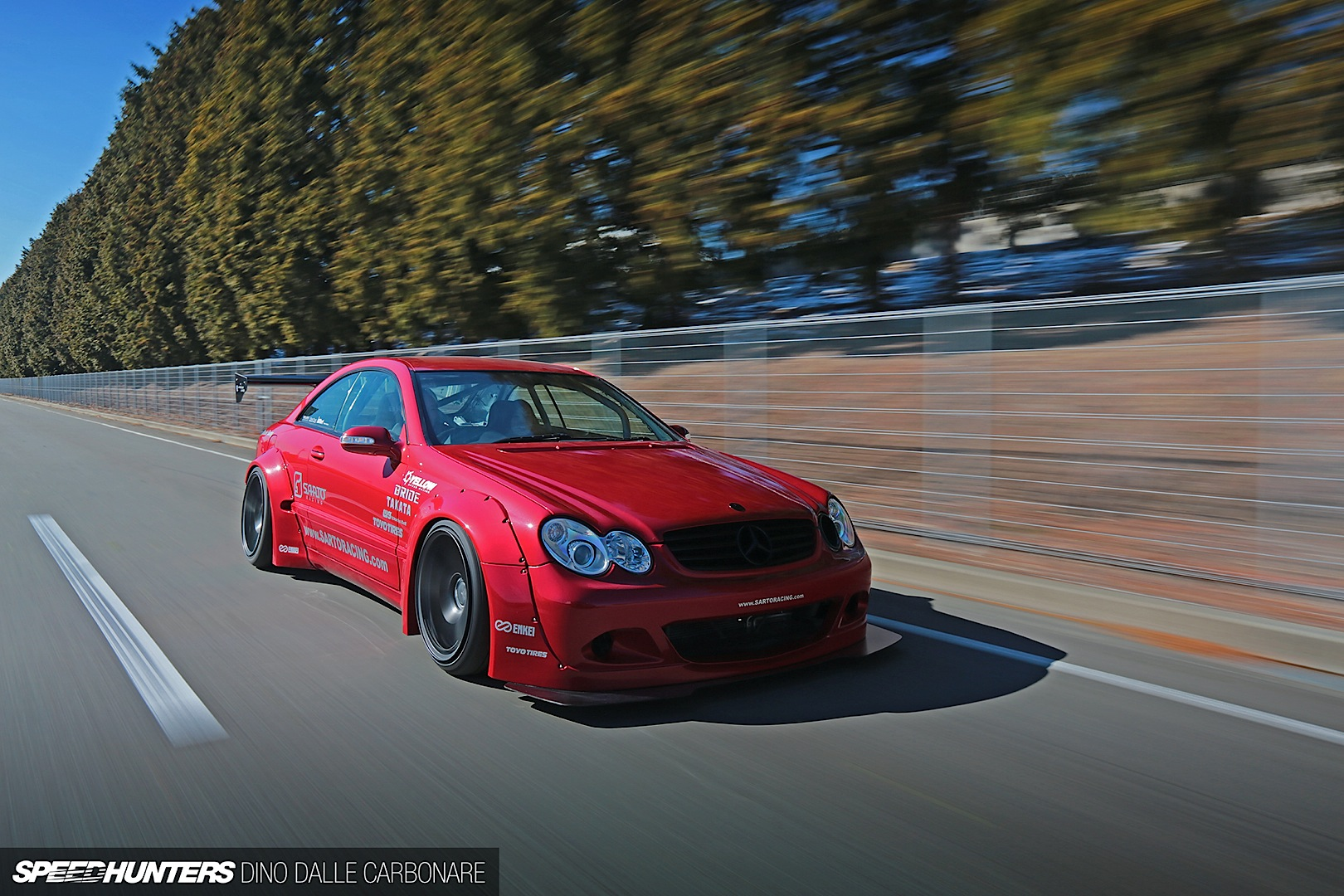 Rocket Bunny Bodykit For The Mercedes Benz Clk C209