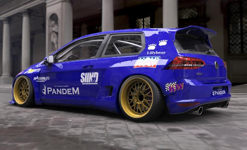 Honda S660 Modified >> Rocket Bunny Golf 7 Kit Previewed by Pandem Before Essen Motor Show 2015 - autoevolution