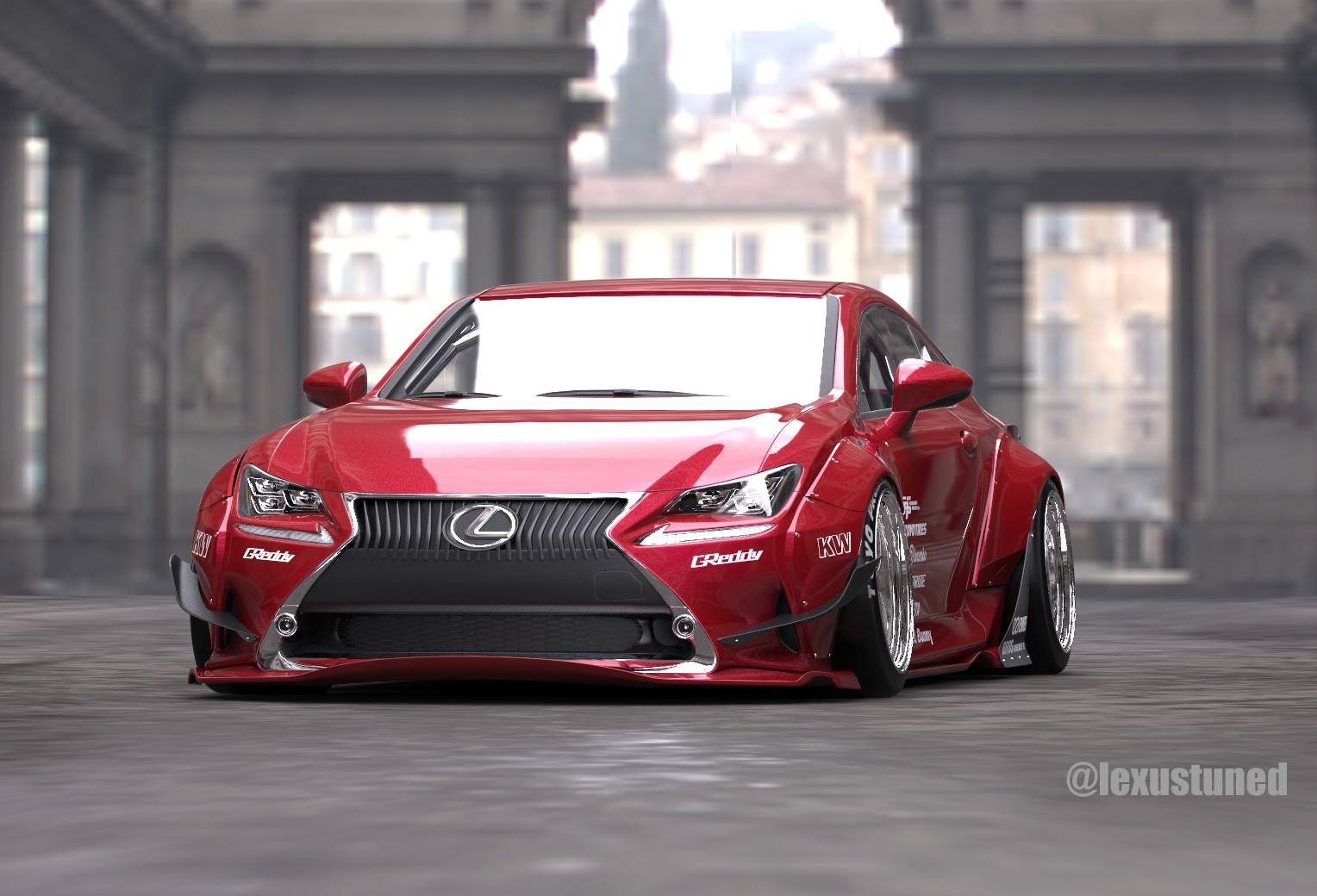 Rocket Bunny Lexus Rc Readying For 2014 Sema Autoevolution