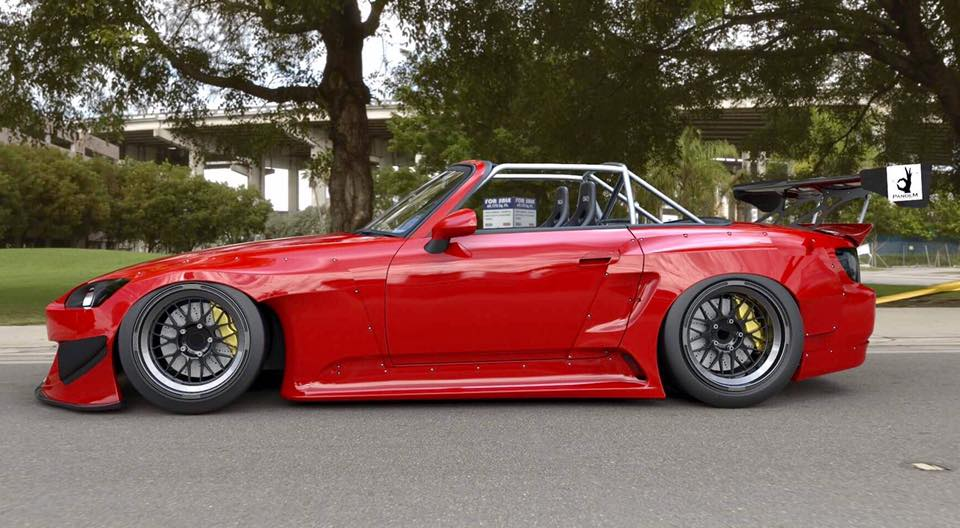 Rocket Bunny Pandem Honda S2000 Looks Like Time Attack Monster, Coming ...