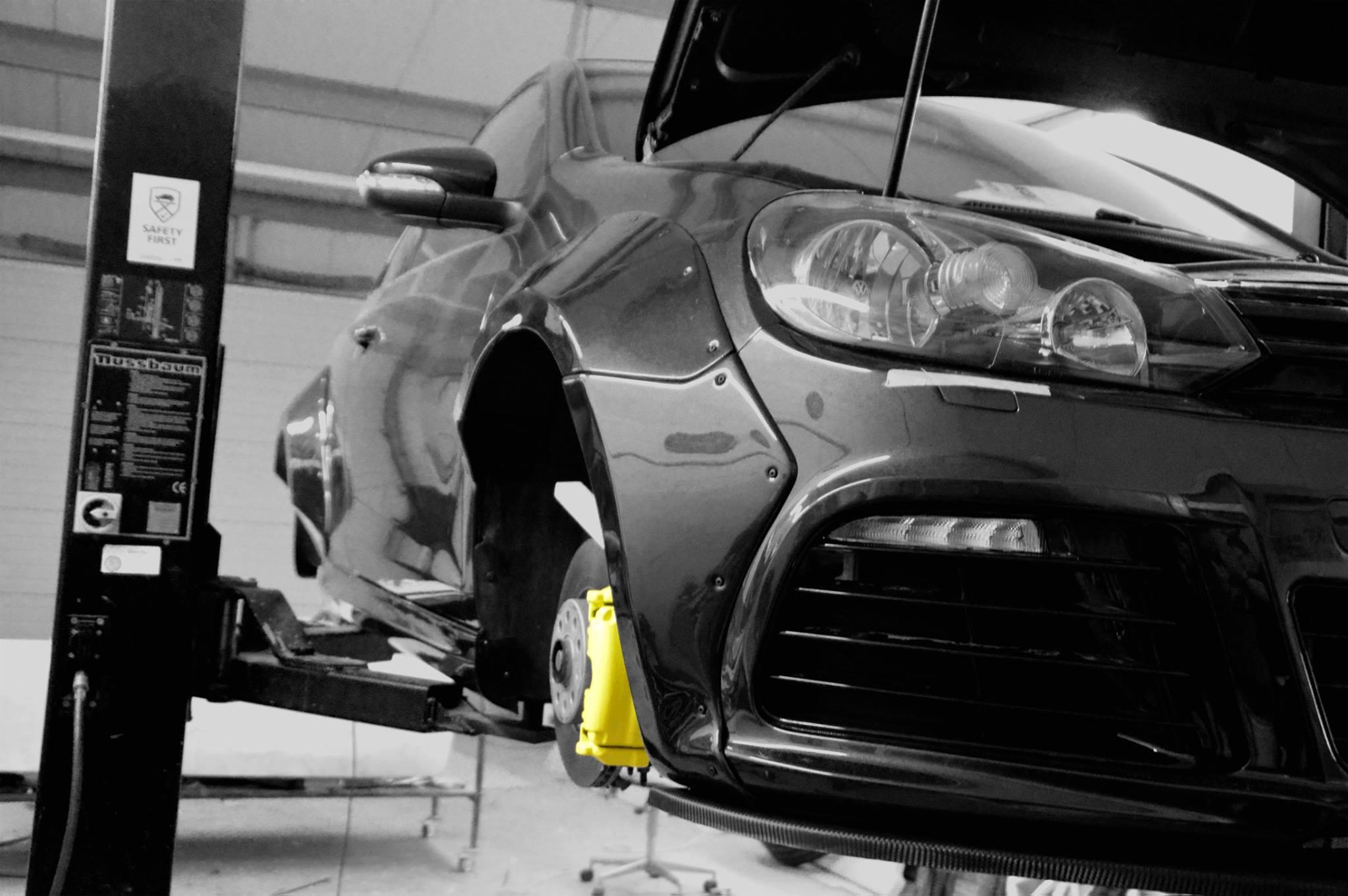 Rocket Bunny VW Scirocco by Ingo Noak Tuning - autoevolution